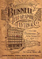 Bunnell Telegraphic and Electrical Company Catalog