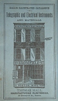 Thomas Hall Catalog, 1881